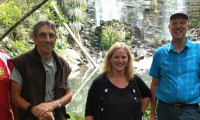 2017 02 03 Wairoa Stream Track walk with Minister Louise Upston Te Wairere Waterfall