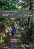 NZWAC Annual Report cover image