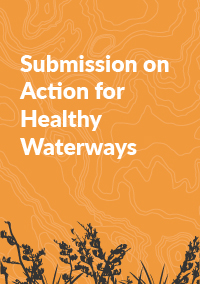 Submission on Action for Healthy Waterways